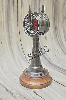 "6"" Antique Brass Ship's Engine Order Telegraph Nautical Decorative Collectible"