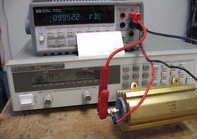 HP 6542A Precision  Power Supply FULLY TESTED! 1mV and 1mA resolution