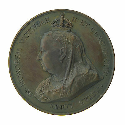 RARE City of London's Queen Victoria Jubilee Medal by Spink & Son 1897