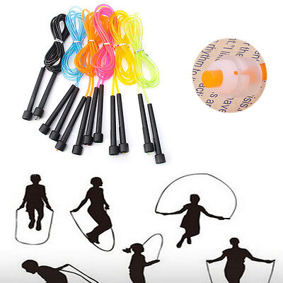Jumping Boxing Cardio Gym Exercise Adjustable Skipping Rope Speed Fitness 2.8M