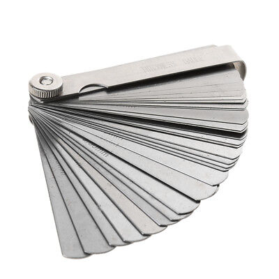 Stainless Steel Feeler Guage Tune Up Thickness Set Dual Marked in 32 Blade