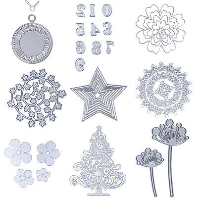 Metal Cutting Dies Stencil DIY Scrapbook Album Paper Cards Diary Hand Craft Gift