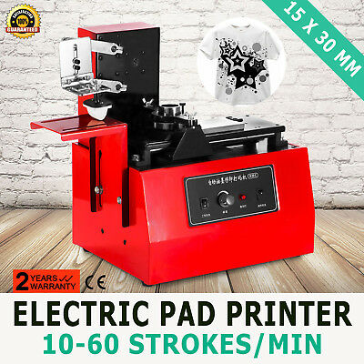 Electric Pad Printer Printing Machine T-Shirt Oil Ink Logos Coding Ball Pen
