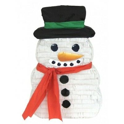 Pinata Snowman 32cm x 52cm x 7cm Not Filled Perfect for Christmas Parties