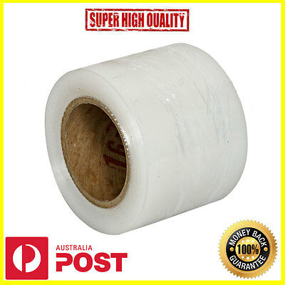 4 x Clear Stretch Film Wrap Pallet Wrapping 100mm x 300m 20um - High Quality