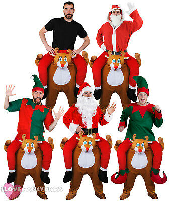 Pick Me Up Reindeer Fancy Dress Funny Novelty Christmas Costumes Choose Style