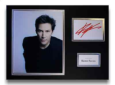Keanu Reeves 'The Matrix' Authentic Hand Signed Autograph