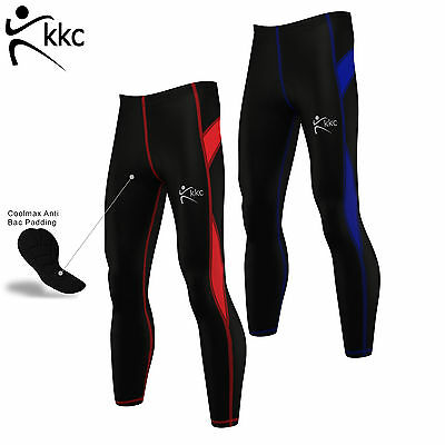 Mens Cycling Tights Winter Thermal Coolmax Padded  Cycling compression Leggings