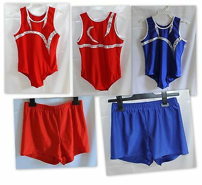 Fan-Tastic Boys Gymnastics Leotard & Shorts
