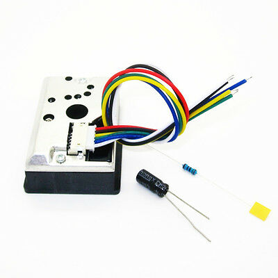 1PCS PM2.5 GP2Y1014AU0F Dust Smoke Particle Sensor Module AU NEW