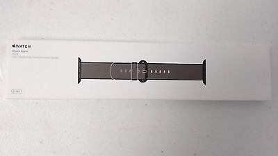 Apple Watch MM9Y2AM/A 42MM Woven Nylon Band - Black GENUINE NEW