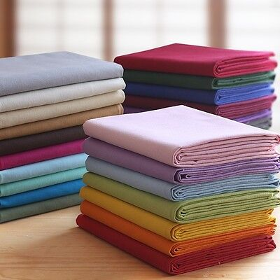 Cotton Canvas Fabric Heavy Weight Tablecloth Curtain Craft Material 150cm Wide