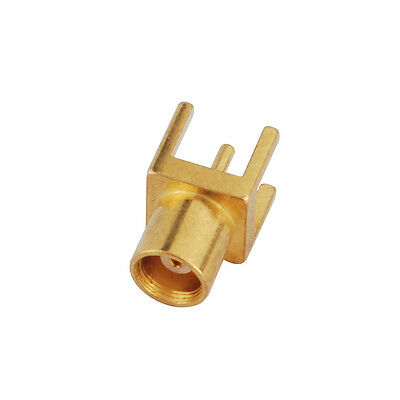 10pcs MCX female Jack thru hole PCB Mount with solder post RF coaxial connector