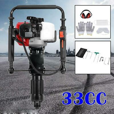 Gas Powered T-Post Driver Heavy Duty One Man 2 Stroke 32CC Gasoline Pile Driver