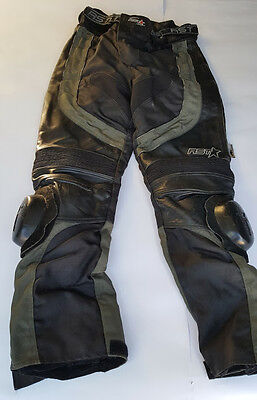 RST Leather Motorcycle Trousers. Size M.