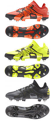 adidas Mens X 15.1 SG Lightweight Lace Up Football Rugby Boots Studs RRP £155
