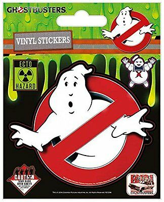 Ghostbusters Logo Sticker set Standard NEW