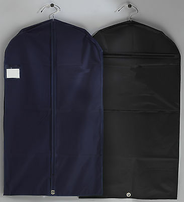2 x Quality Suit Cover,Garment Bag,Travel,Storage,Pocket (112cm)