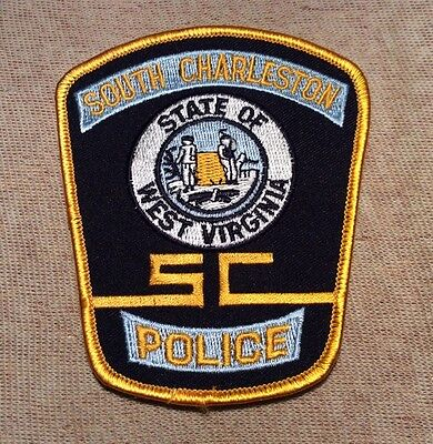WV South Charleston West Virginia Police Patch