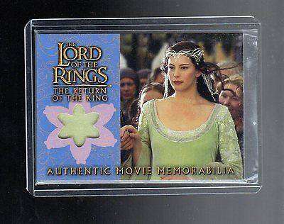 Lord Of The Ring The Return of the King Arwens Coronation Dress costume card