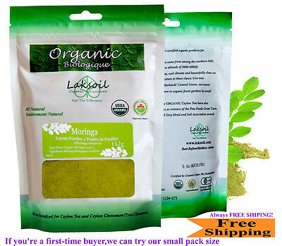 Certified Organic Moringa Leave Powder