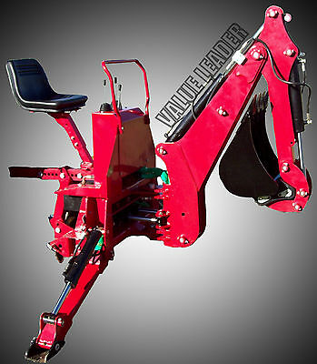 3pt Tractor Backhoe 6' Dig Self Contained, PTO Powered Cat.I 25Hp+(BHM6)