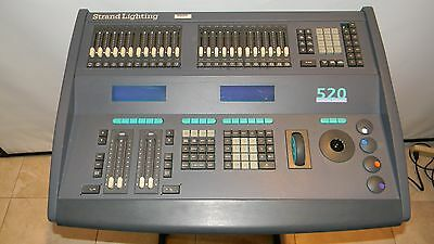Strand Lighting 520 Stage Light Controller Powers Up Untested