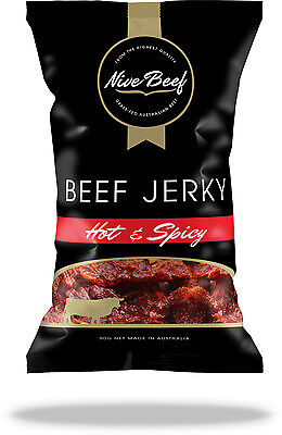 Nive Beef Jerky HOT & SPICY 50g