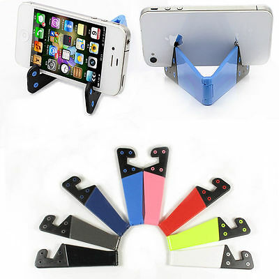 Foldable mobile cell phone stand holder for smartphone tablet PC Ipad Universal