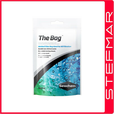 Seachem THE BAG - Welded Filter Bag / Pouch 180 Micron Mesh for Purigen & Media