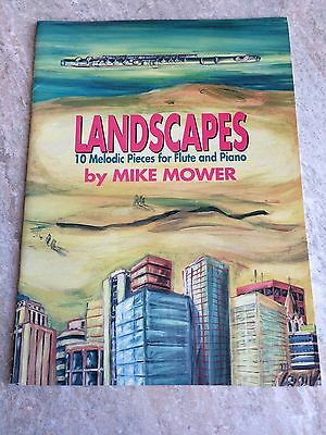 Landscapes For Flute By Mike Mower *NEW*
