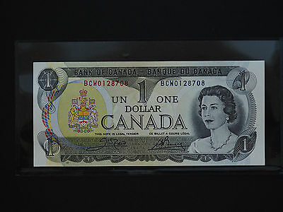 Canada  Banknotes   -   Classic 1973 One Dollar Mint Banknotes   * Gem Unc *
