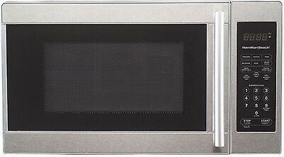 Hamilton Beach 0.7 cu.ft. Stainless Steel Microwave Oven EM720CPN-S with DEFECT