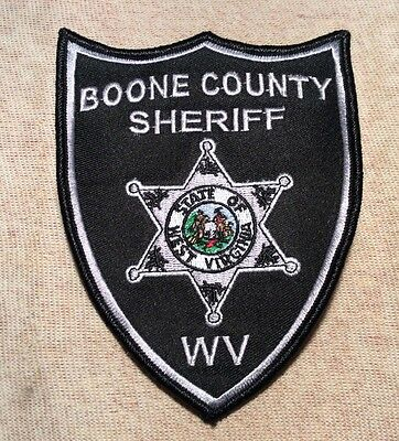 WV Boone County West Virginia Sheriff Patch (SL)