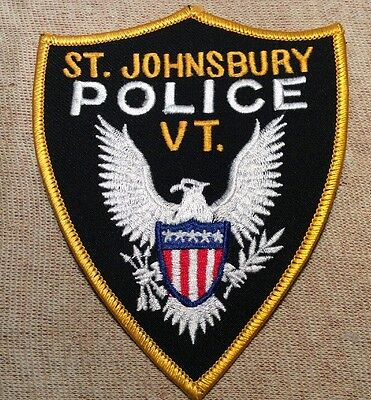 VT St. Johnsbury Vermont Police Patch