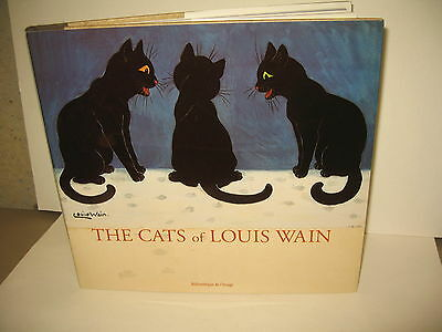 Cats of Louis Wain Allderidge Book Postcard images art quality color
