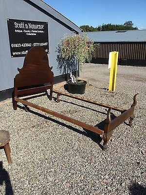 Vintage Gothic Style 3' 6 Single Bed Frame