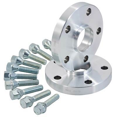 Wheel Spacers For BMW 15mm Spacers & Bolt Kit - 5x120 PCD | 72.6mm CB