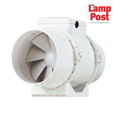 Xpelair 93078AW XIMX100 Standard Centrifugal Mixed Flow Inline Extractor Fan