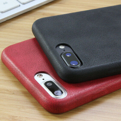 NEW Luxury Genuine PU Leather Ultra Thin Case Cover For Apple iPhone 6 6s 7 Plus