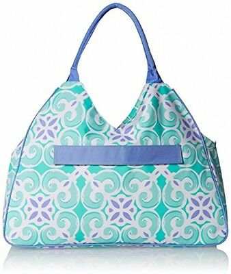 Water Resistant Beach Bag With Inside Lining And Top Handle - 22 Long (Sea Tile)