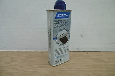 NORTON WHITE MINERAL SHARPENING STONE OIL 4 1/2 oz