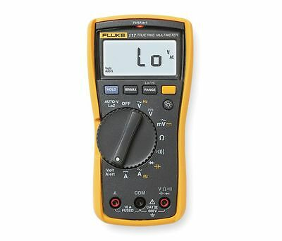 Fluke 117 Electrician's Multimeter with Non-Contact Voltage & Backlit LCD