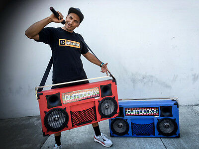 Bumpboxx - Worlds Largest Bluetooth Vintage Boombox Speakers for Roller Skates