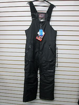 Choko Men's Crossover Black Snowmobile Bibs L XL 2XL 73PN000-