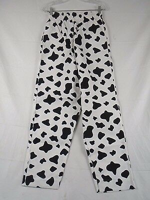 Fame Fabrics Cow Hide Chef Pants Small #C15 222G