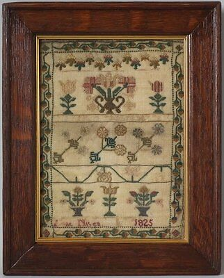 Small Antique Sampler, 1825 by Anne Niven