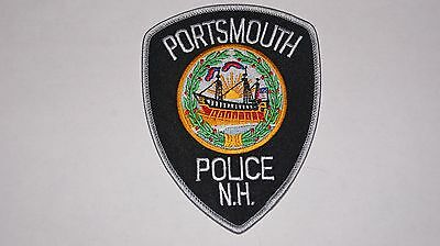 Portsmouth New Hampshire Police Patch