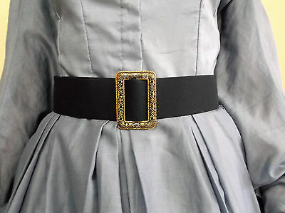 fabric BELT* CIVIL WAR LADY REENACTOR DRESS VICTORIAN WOMEN CLOTHING SZ SMALL-XL