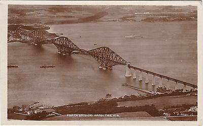 Forth Railway Bridge From The Air, SOUTH QUEENSFERRY, West Lothian RP